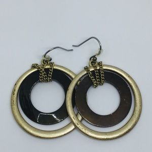 Jewelry - Antique finish earrings
